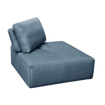 Rembert Corner Ottoman Upholstery: Dark Blue