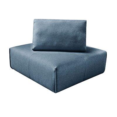 Rembert Corner Cocktail Ottoman Upholstery: Dark Blue