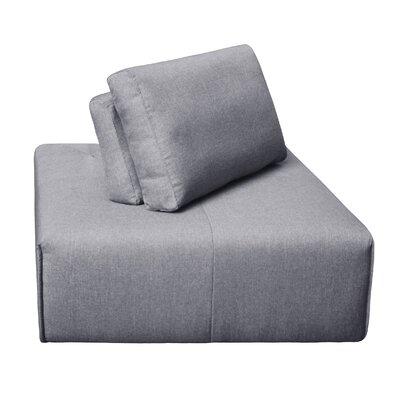 Rembert Corner Ottoman Upholstery: Gray