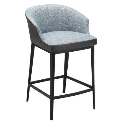 Verena 25.5 Bar Stool Upholstery: Blue