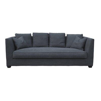 Luara Sofa Upholstery: Black