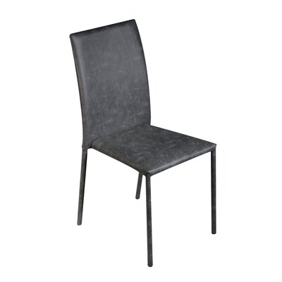 Bosque Upholstered Dining Chair Upholstery Color: Black