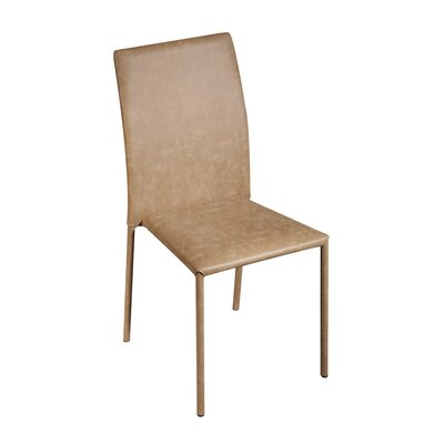 Bosque Upholstered Dining Chair Upholstery Color: Brandy