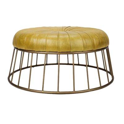 Tondo Ottoman Upholstery: Green