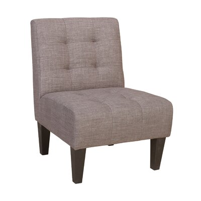 Pettitt Side Chair Upholstery: Gray