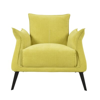 Ellington Circle Armchair Upholstery: Yellow