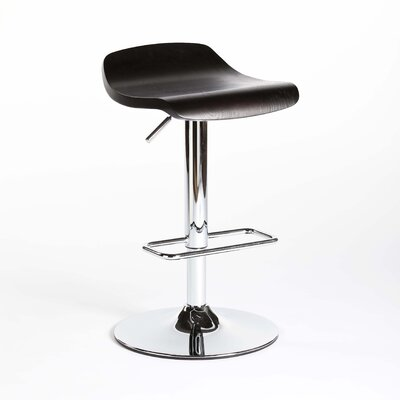 Rent to own Pena Hydraulic Barstool in Dark Bro...