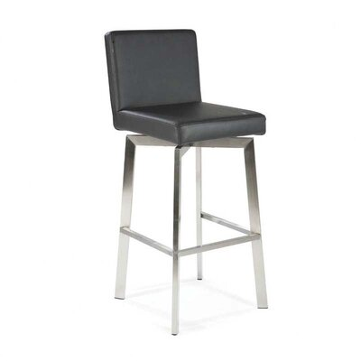 Rent Giro Barstool Color: Black...