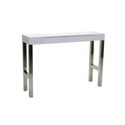 Cheap Moe's Home Collection Tura Console Table in White Lacquer (QHC1033)