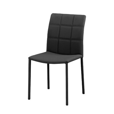 No credit check financing Grid Parsons Chair (Set of 2) Uphol...
