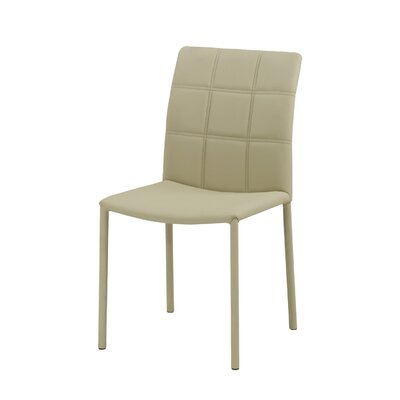 No credit financing Grid Parsons Chair (Set of 2) Uphol...