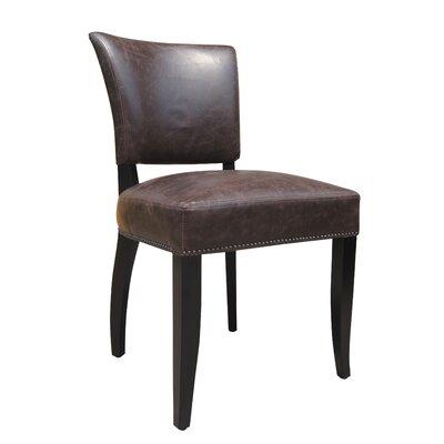 Vidar Side Chair Upholstery: Brown