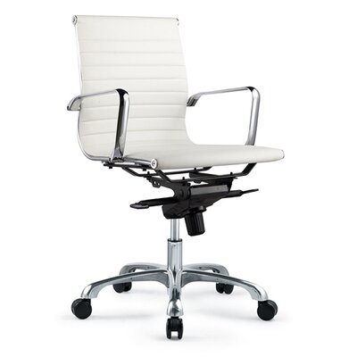 Moe's Home Collection Omega Low-Back Office Chair - Color: White (Set of 2) at Sears.com