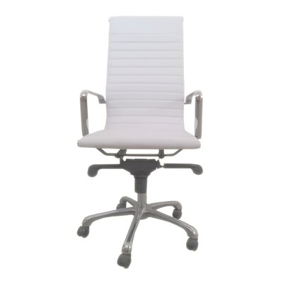 Moe's Home Collection Omega High-Back Office Chair - Color: White (Set of 2) at Sears.com