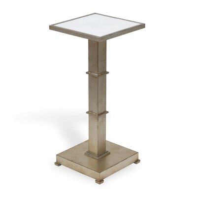 Blake End Table Color: Silver