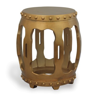 Empress End Table Finish: Gold