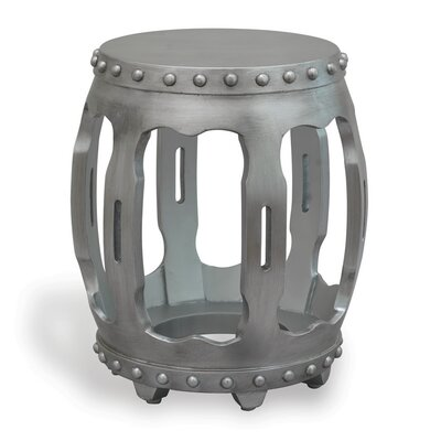 Empress End Table Color: Silver