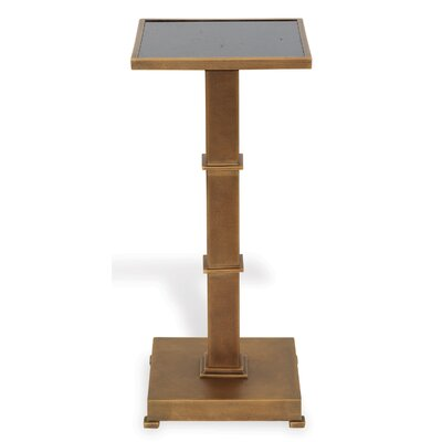 Blake End Table Color: Brass