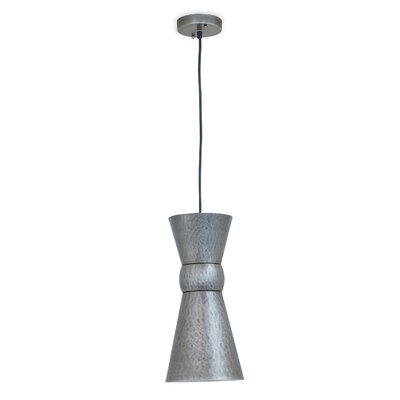 Easton 1-Light Mini Pendant Finish: Gunmetal