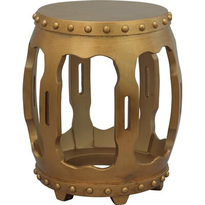 Empress End Table Color: Gold