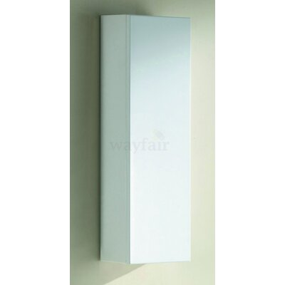 Barros 10 x 28 Surface Mount Medicine Cabinet Finish: High Gloss White