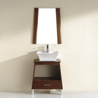 Phalero 30 Single Bathroom Vanity Set with Mirror Base Finish: Ceries Classique