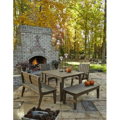 """Uwharrie Hourglass Dining Table Set - Table Size: 48"""", Finish: Hunter (Distressed) at Sears.com"""
