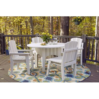 Uwharrie Carolina Preserves 5 Piece Dining Set - Finish: Coral (Distressed) at Sears.com