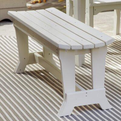 Uwharrie Carolina Preserves Picnic Bench - Finish: Rustic Red Wash Size: 4 Seat
