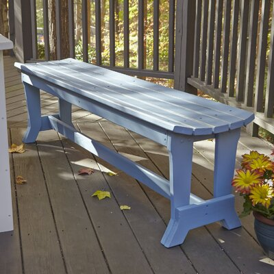 Uwharrie Carolina Preserves Picnic Bench - Finish: Butter (Distressed), Size: 4 Seat at Sears.com