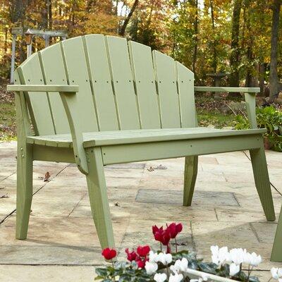 Uwharrie Plaza Garden Bench - Finish: Hunter Wash, Size: 4 Seat at Sears.com