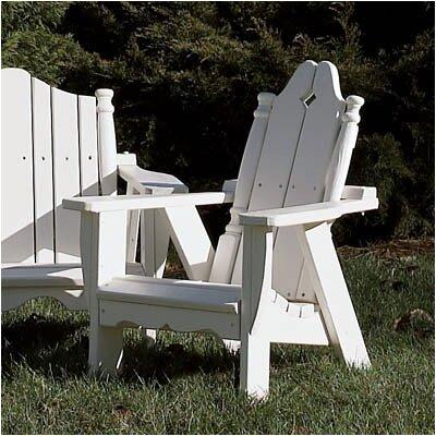 Uwharrie Nantucket Kid's Adirondack Chair - Finish: B.T. Blue Wash
