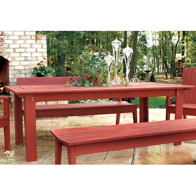 Uwharrie Rectangle Behrens Dining Table - Finish: Persimmon (Distressed) at Sears.com