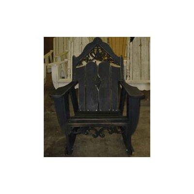 Uwharrie Veranda Rocking Chair - Finish: Persimmon (Distressed)
