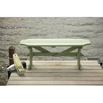 Uwharrie Harvest Wood Picnic Bench - Finish: Tangerine (Distressed) at Sears.com