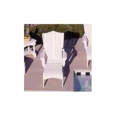 Uwharrie Plantation Chaise Lounge - Finish: Coral Wash