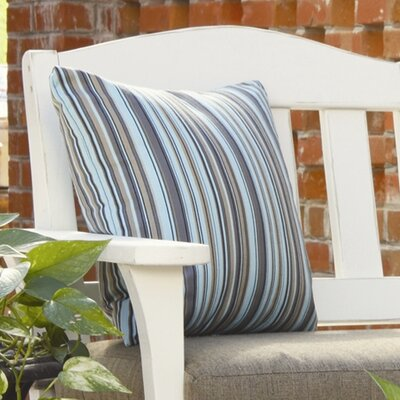 Westport Throw Pillow Color: Dupione Deep Sea