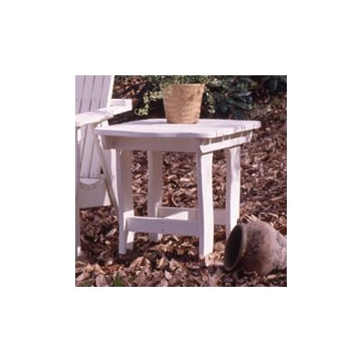 Uwharrie Companion Square Side Table - Color: Island Green Wash