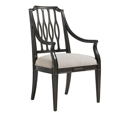 Charleston Regency Upholstered Dining Chair Frame Color: Classic Mahogany
