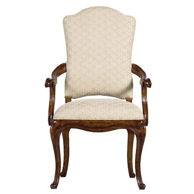 Arrondissement Arm Chair Finish: Heirloom Cherry