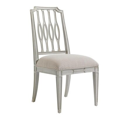 Charleston Regency Side Chair Side Chair Finish: Ropemakers White