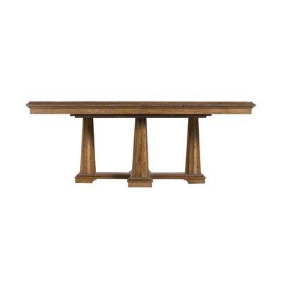 Archipelago Calypso Pedestal Dining Table Finish: Shoal
