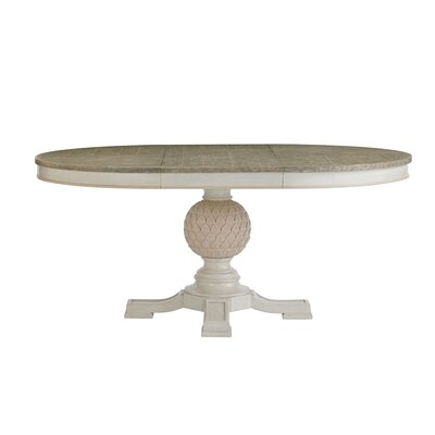 Preserve Artichoke Pedestal Extendable Dining Table