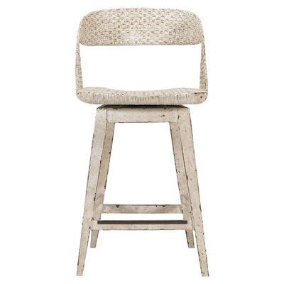 Archipelago 24 Swivel Bar Stool Finish: Blanquilla