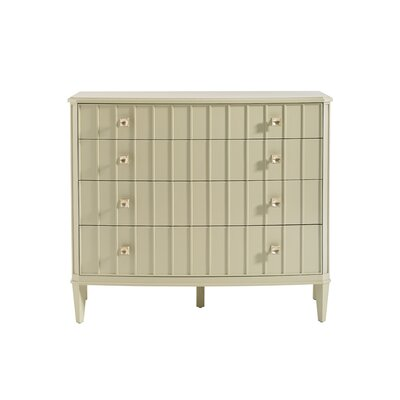 Crestaire Monterey 4 Drawer Dresser Color: Off-White