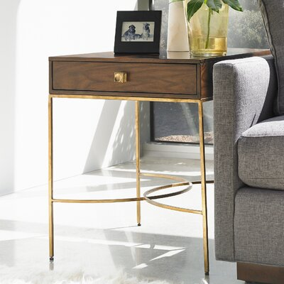 Crestaire Oscar End Table with Storage