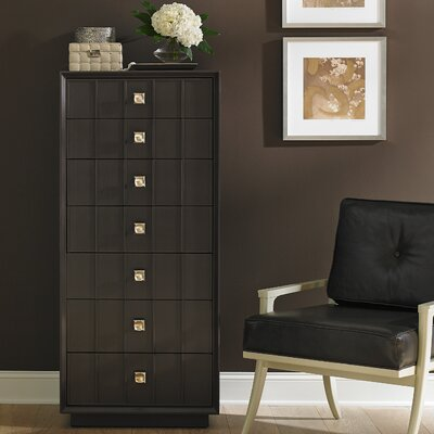 Crestaire Monterey 7 Drawer Lingerie Chest Color: Flint