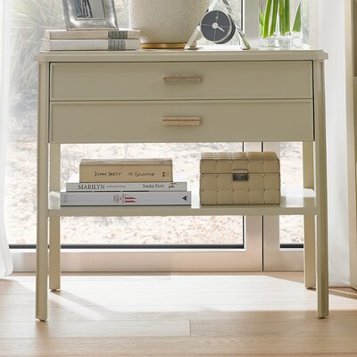 Crestaire Suthbridge 1 Drawer Nightstand Finish: Capiz
