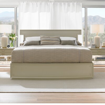 Crestaire Platform Bed Size: Queen, Color: Capiz