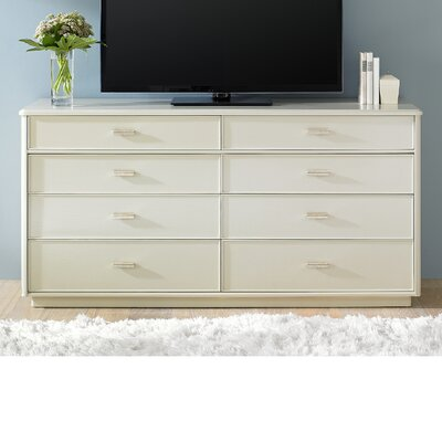 Crestaire Southridge 8 Drawer Double Dresser Color: Capiz